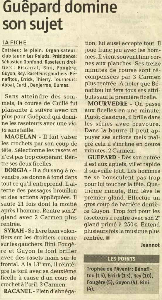 01 05 2007 (La Provence)