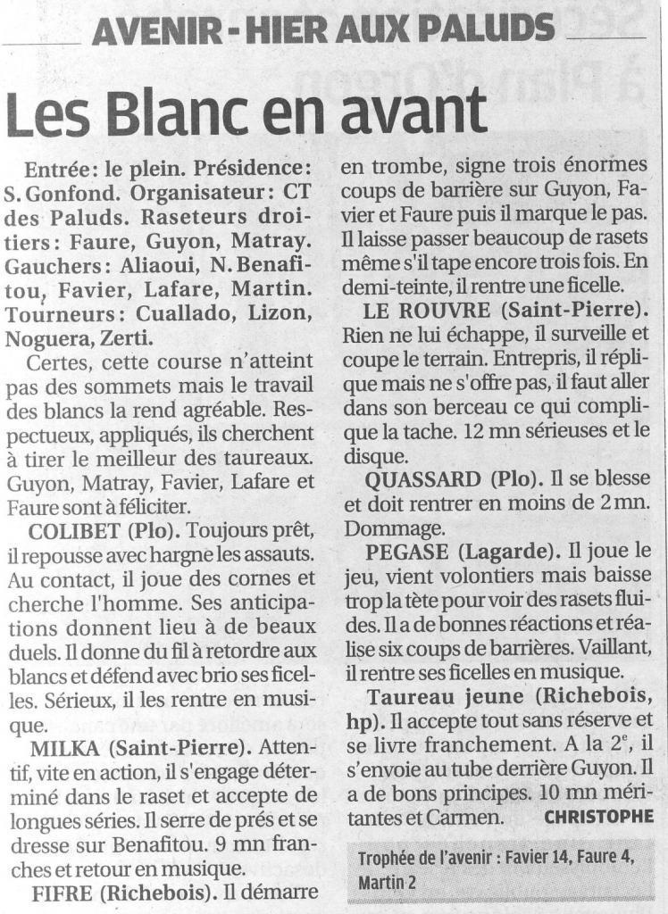 01 mai 2012 ( la provence)