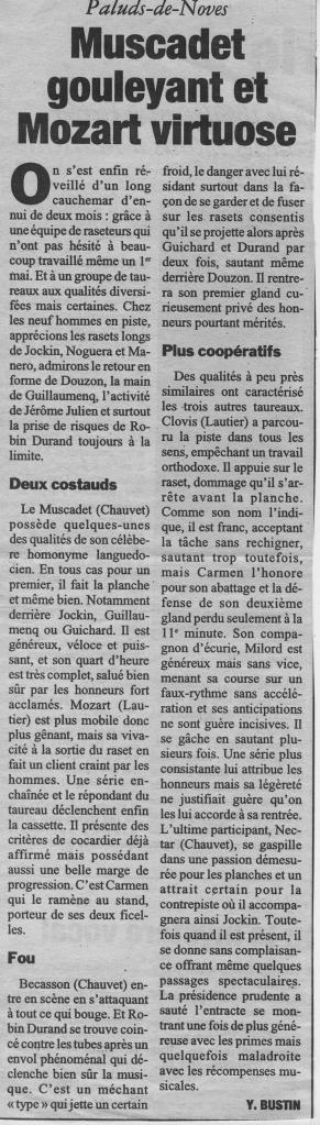 1 mai 1998 ( la marseillaise)
