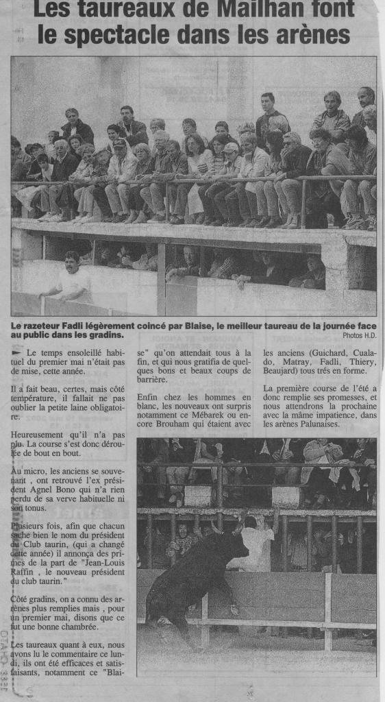 1 Mai 2002 ( H Duret)