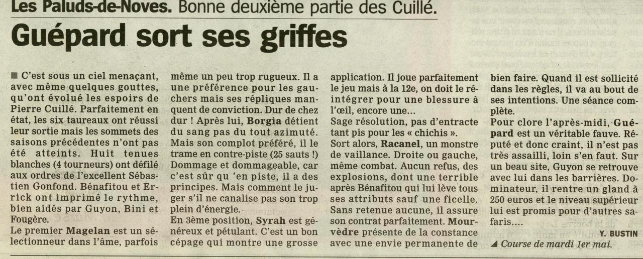 1 mai 2007 (la marseillaise)