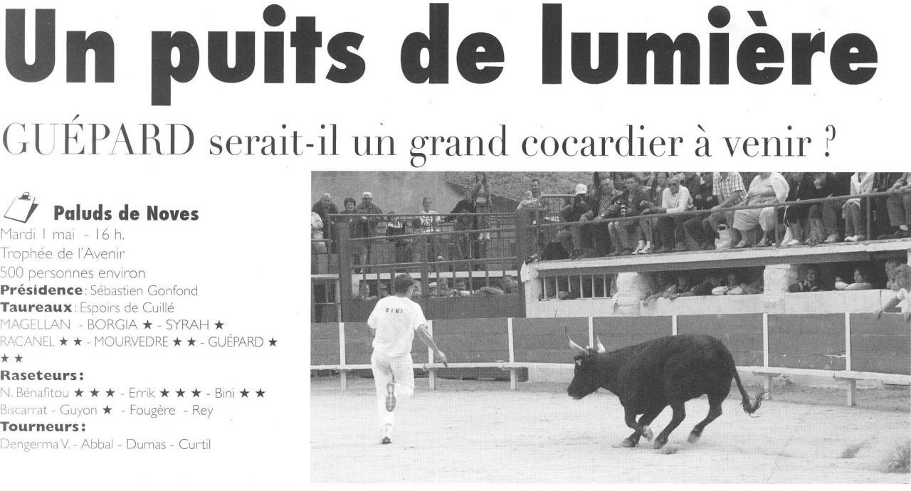 1 mai 2007 ( le cocardier ) N° 1
