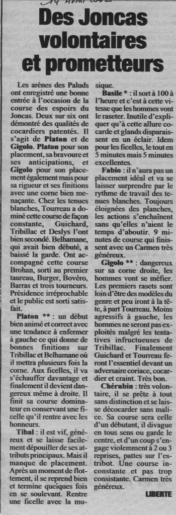 14 avril 2002 (La Marseillaise)