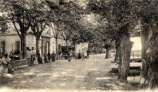 2.Rue principale en 1915