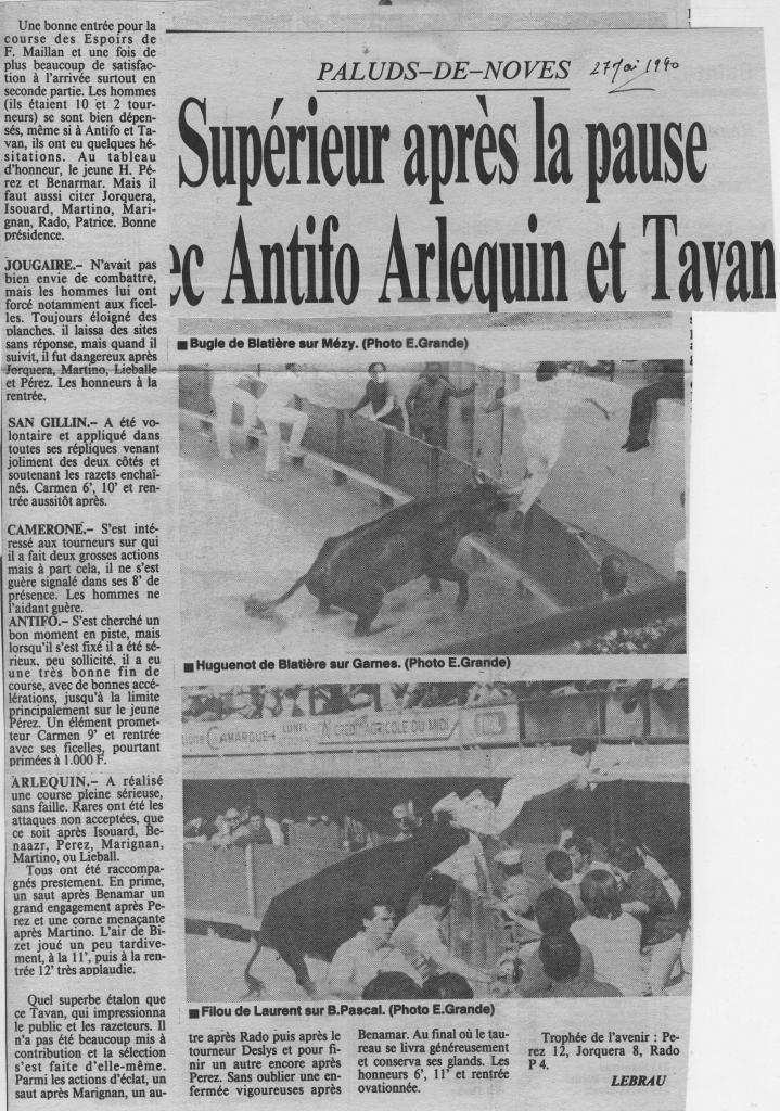 27 Mai 1990 ( La Marseillaise)