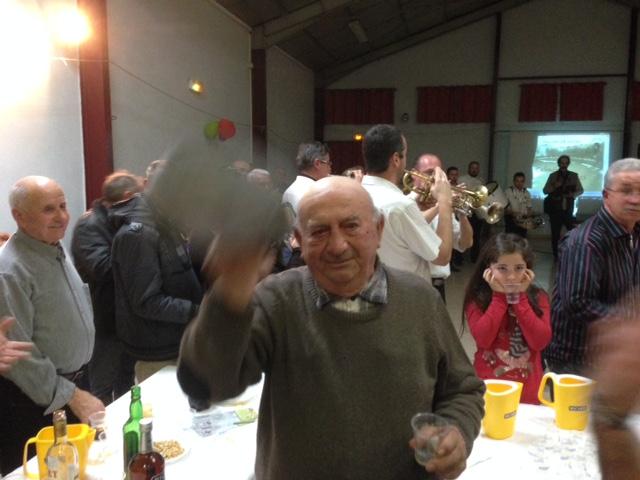 Amé Raffin le doyen du Club Taurin depuis 1964 (50 ans)
