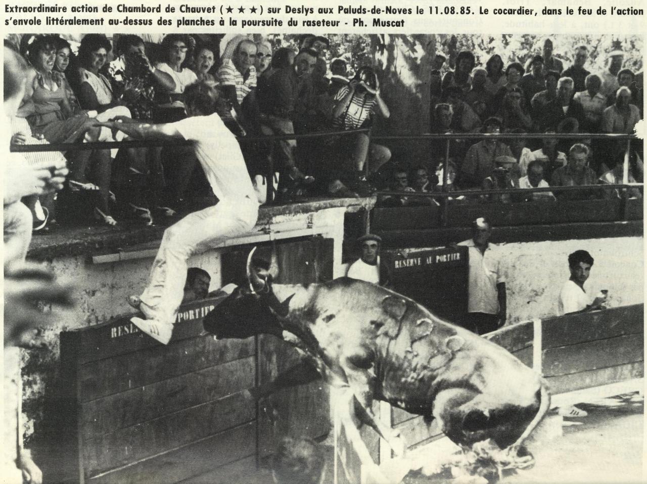 Chambord R Chauvet F Deslys 11 08 1985