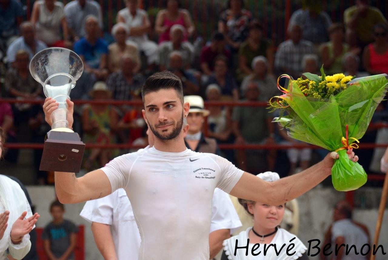 Enzo Bernard ( 2 eme Trophée St Roch)