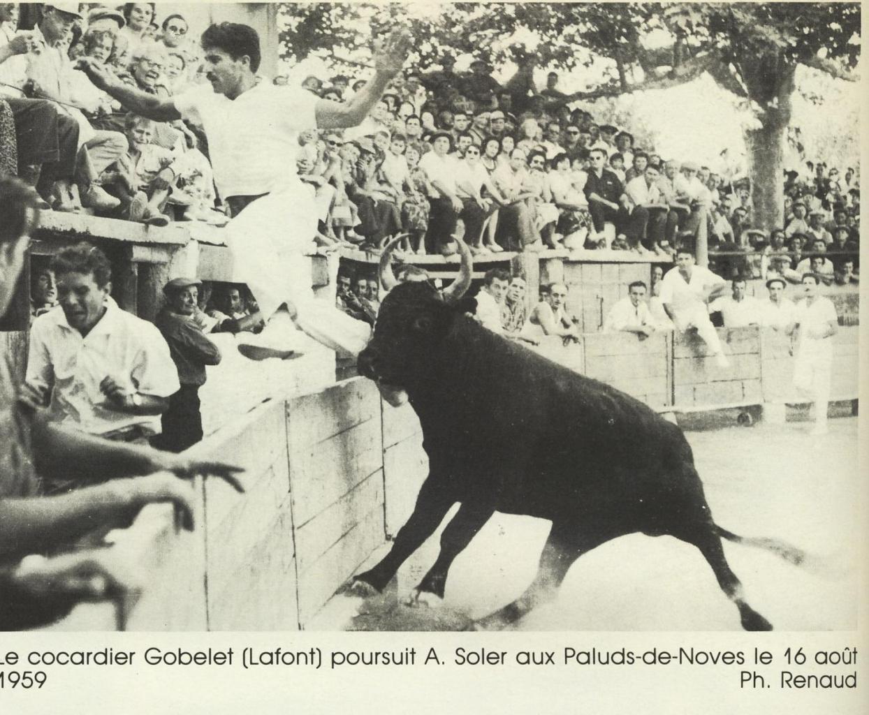 Gobelet J Lafont A Soler 16 Aout 1959