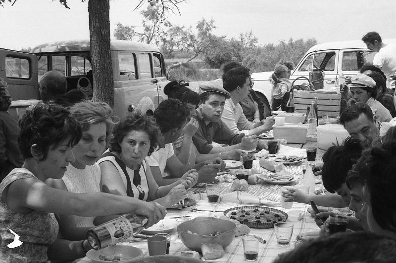 Ferrades Chez Jean LAFONT en 1967