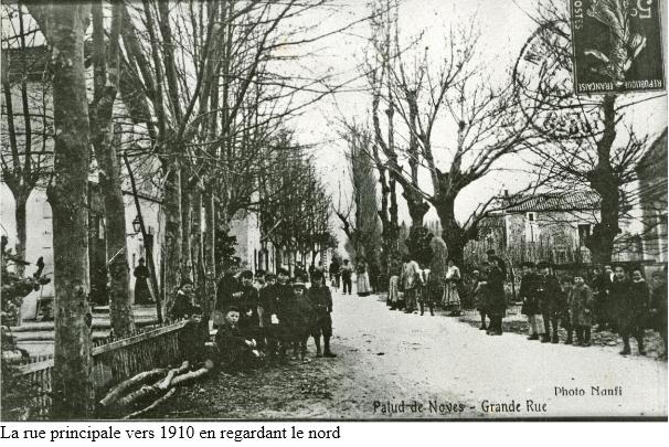 1 rue principale en 1910