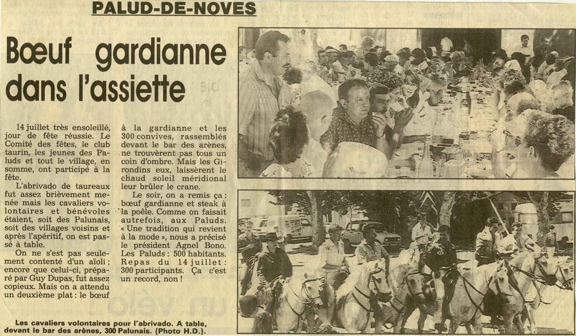 1990 aioli et beuf gardian