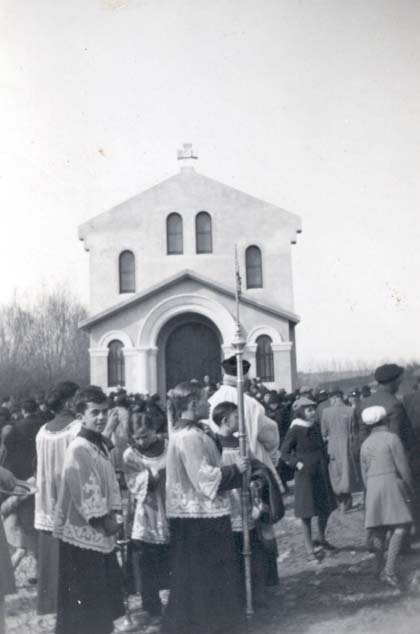 21 inauguration 7 mars 1937 chapelle des paluds