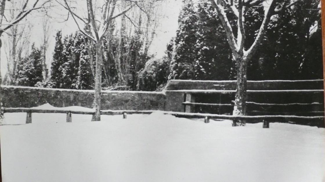 22 arenes sous la neige 1935