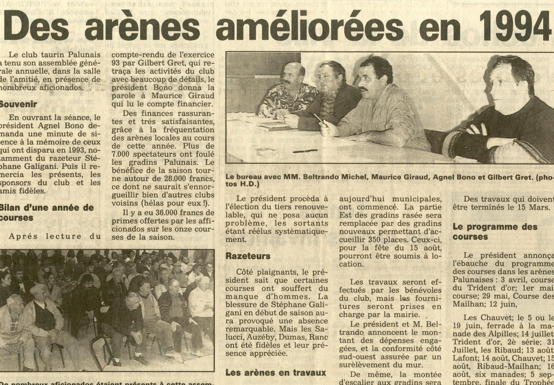 Assemblee generale 1993