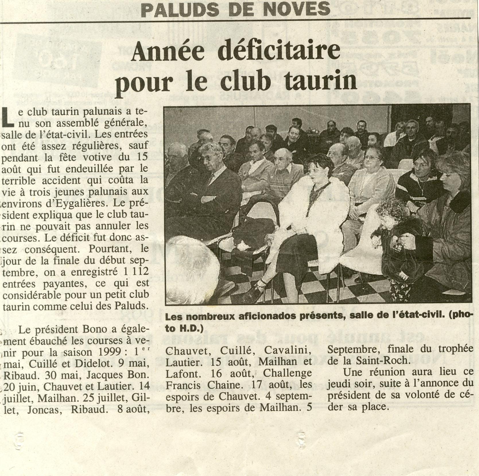 Assemblee generale 1998