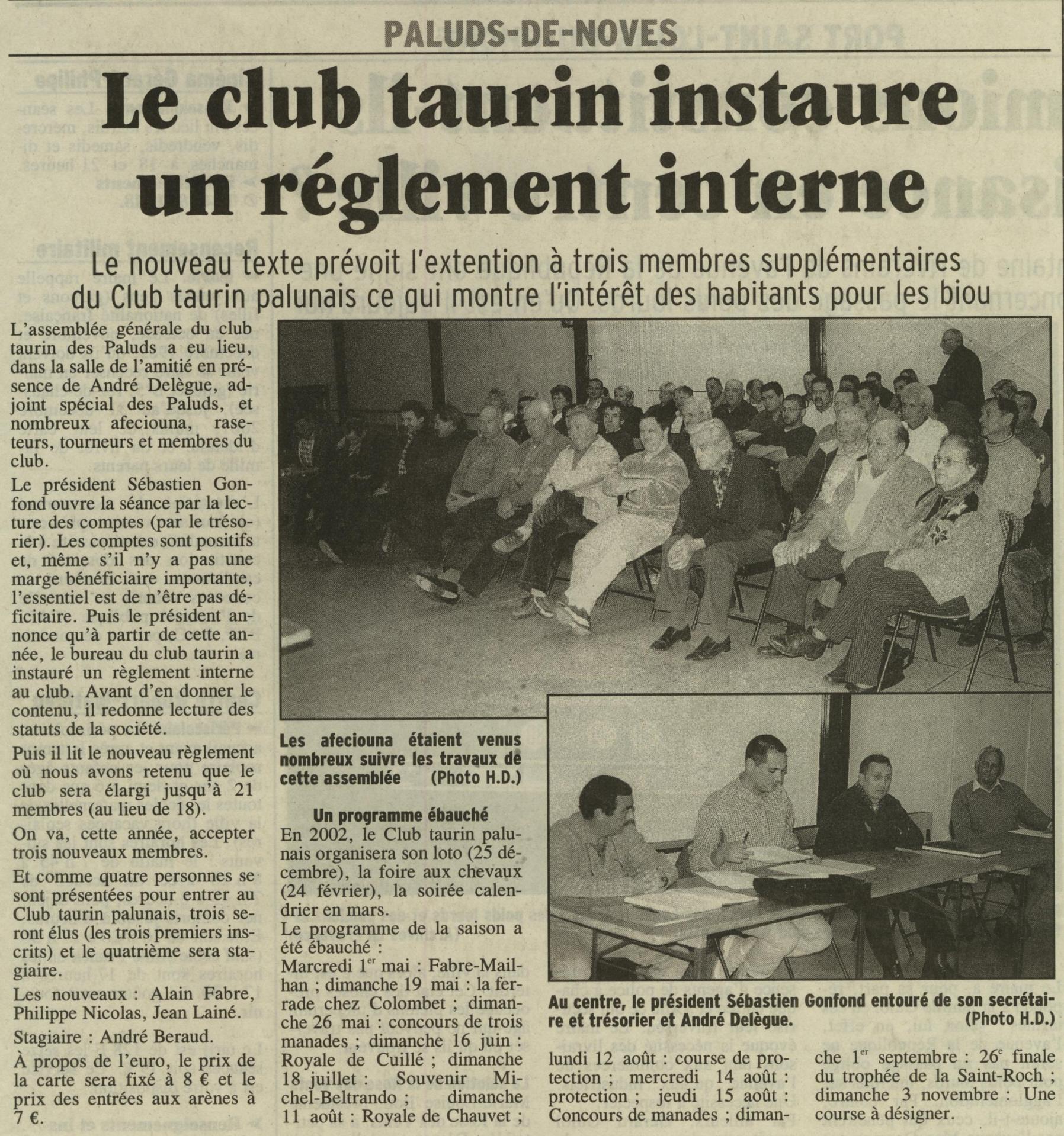 Assemblee generale 2002