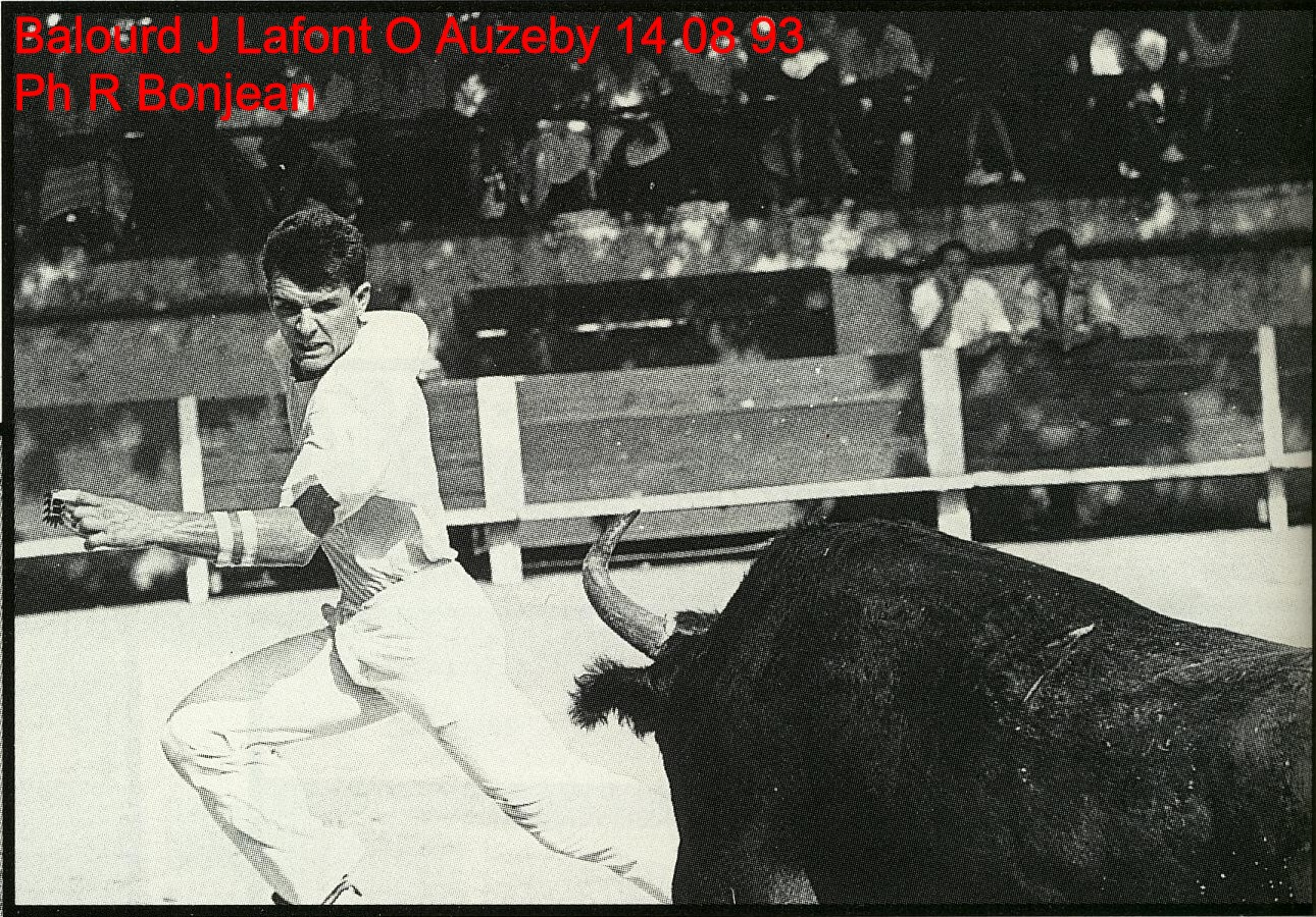 Balourd j lafont o auzeby 14 08 1993