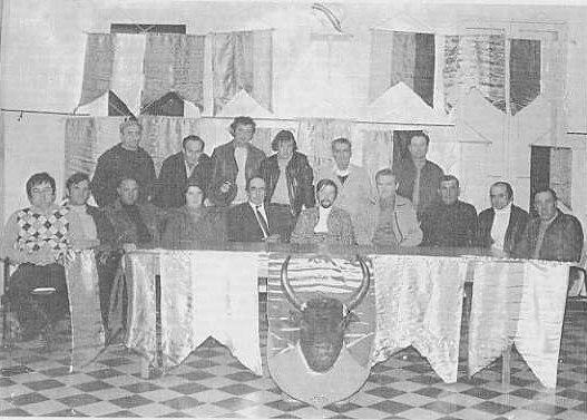 Conseil d administration du club taurin 1975