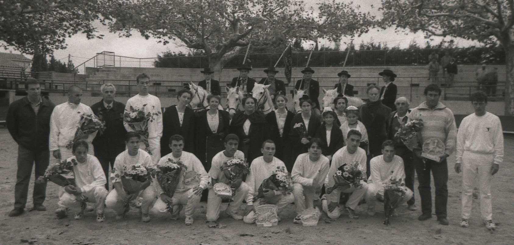 Finale ecole des raseteurs de nimes 1997