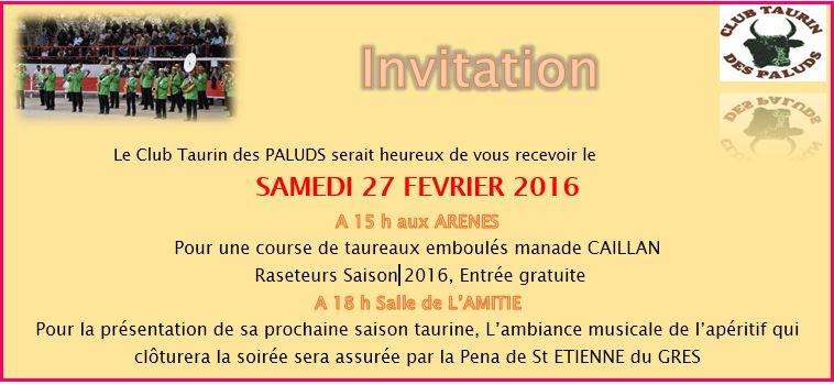 Invitation 27 fevrier 2016
