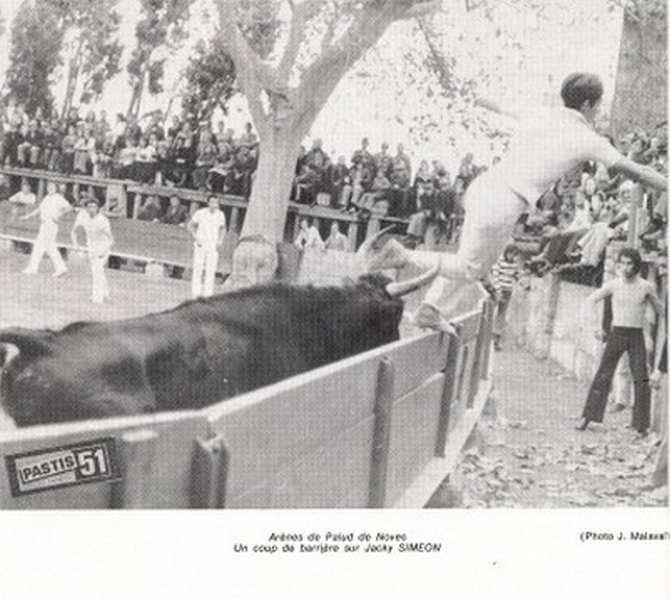 Jacky simeon les paluds novembre 1974