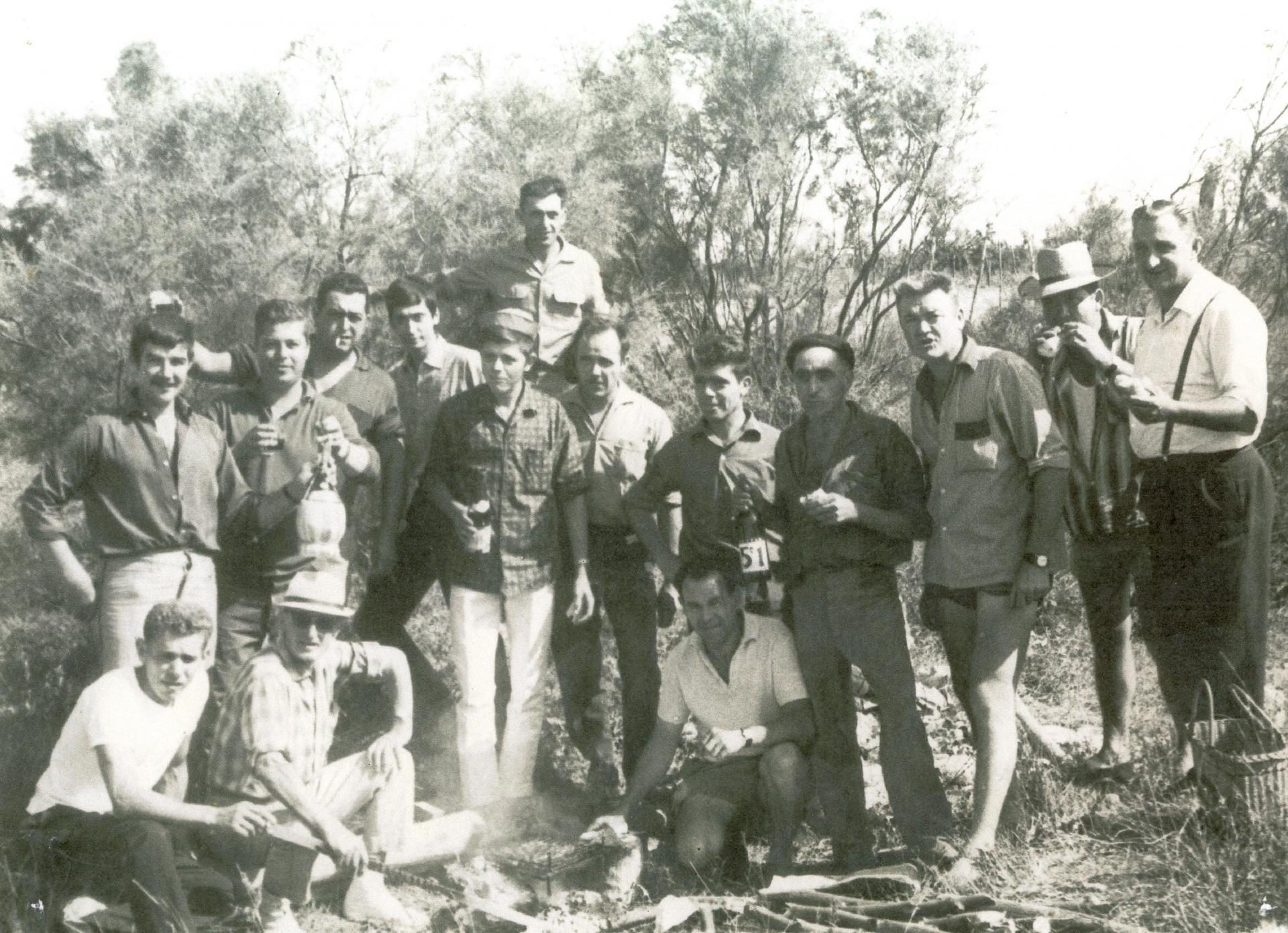 Menbres du club taurin en 1963