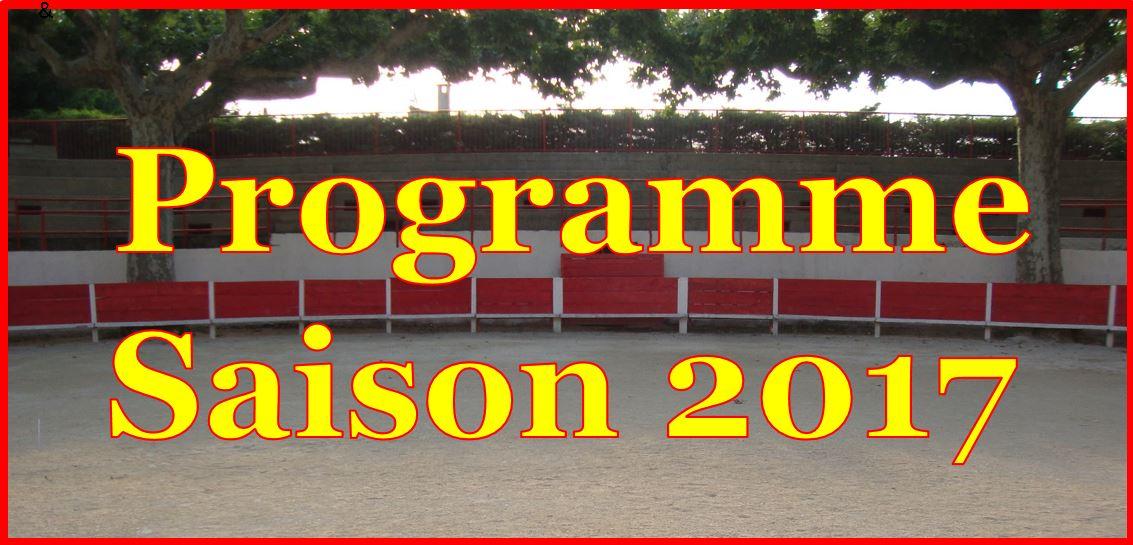 Les Programme Saison 2017