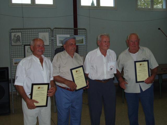 Remise diplome taurin de la ffcc en 2008